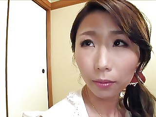Mother Ayumi in sex action