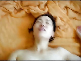 Cute Chinese lady having sex