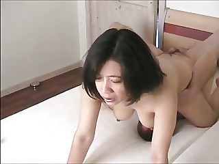 Real Korean wife was fucked