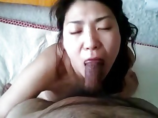 Korean mom swallowed sperm