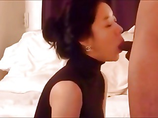 Cute Korean lady banging