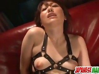 Nagisa Uematsu fucked with toys in severe modes