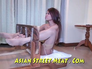 Ejaculated Up Her Sweet Asian Ass Hole