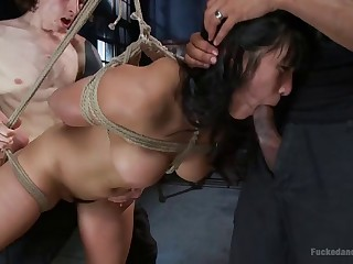 Asian Slut gets Dicked