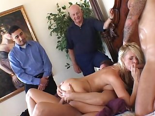 Three Cocks Challenge for a Nasty Wife Totally Tabatha!